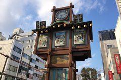 人形町のからくり時計