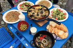 スペイン料理のパエリアやアヒージョ