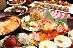 宴会の料理