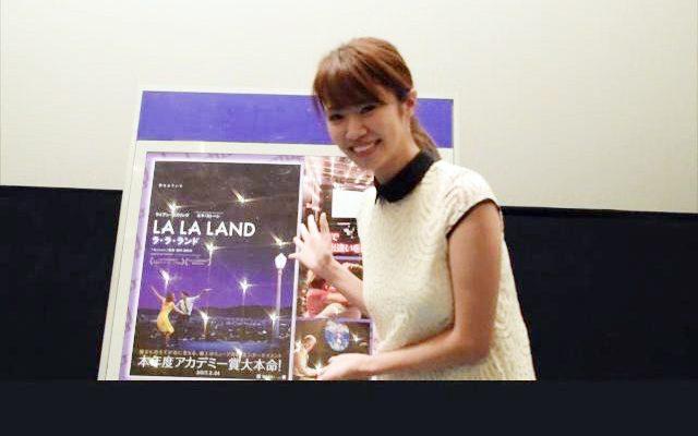 映画コンの上映作品をMC菜乃花さんがPR告知