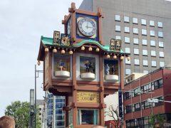 日本橋人形町のからくり時計